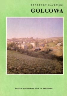 Golcowa : szkice z dziejów wsi