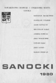 Rocznik Sanocki, 1980 : materiały z sesji naukowej zorganizowanej z okazji obchodów 500-lecia zgonu Grzegorza z Sanoka