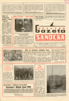 "Gazeta Sanocka ""Autosan"", 1983, nr 10-11"