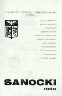Rocznik Sanocki, 1988
