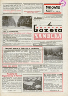 "Gazeta Sanocka ""Autosan"", 1984, nr 4-6"