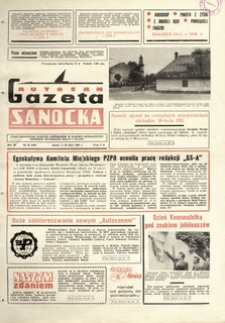 "Gazeta Sanocka ""Autosan"", 1984, nr 19-21"