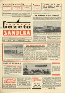 "Gazeta Sanocka ""Autosan"", 1984, nr 28"