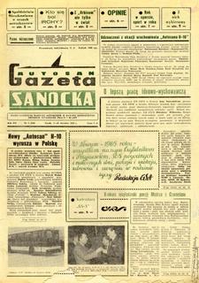 "Gazeta Sanocka ""Autosan"", 1985, nr 1-3"