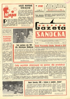 "Gazeta Sanocka ""Autosan"", 1985, nr 13-15"