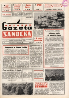 "Gazeta Sanocka ""Autosan"", 1985, nr 25-27"