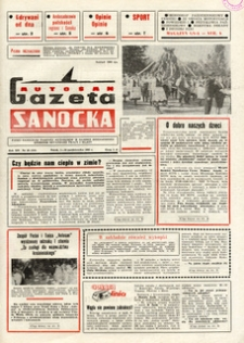 "Gazeta Sanocka ""Autosan"", 1985, nr 28-30"