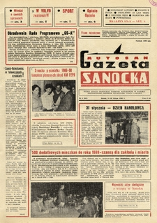 "Gazeta Sanocka ""Autosan"", 1986, nr 4-6"