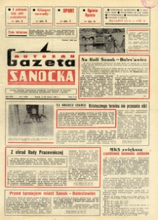 "Gazeta Sanocka ""Autosan"", 1986, nr 7-9"