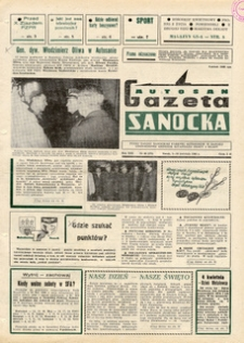 "Gazeta Sanocka ""Autosan"", 1986, nr 10-12"