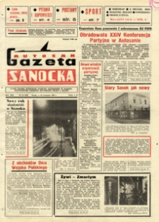 "Gazeta Sanocka ""Autosan"", 1986, nr 31-33"
