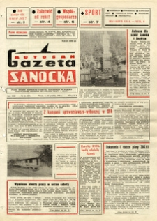 "Gazeta Sanocka ""Autosan"", 1986, nr 34-36"