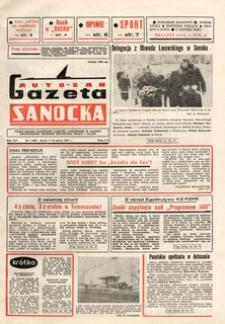 "Gazeta Sanocka ""Autosan"", 1987, nr 7"