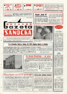 "Gazeta Sanocka ""Autosan"", 1987, nr 19-21"