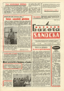 "Gazeta Sanocka ""Autosan"", 1987, nr 34-36"