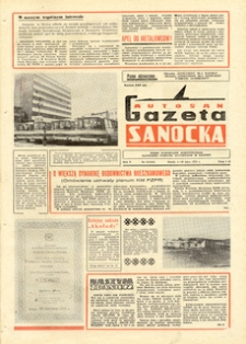"Gazeta Sanocka ""Autosan"", 1978, nr 19-21"