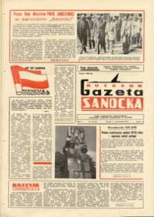 "Gazeta Sanocka ""Autosan"", 1978, nr 22-24"