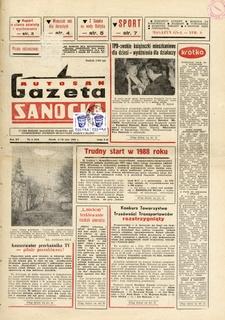 "Gazeta Sanocka ""Autosan"", 1988, nr 4-6"