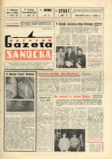 "Gazeta Sanocka ""Autosan"", 1988, nr 11-12"