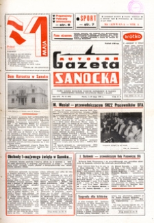 "Gazeta Sanocka ""Autosan"", 1989, nr 13-15"