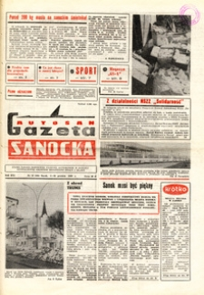 "Gazeta Sanocka ""Autosan"", 1989, nr 33-36"