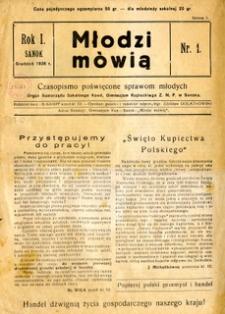 Młodzi Mówią, 1936, nr 1