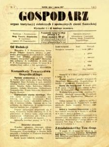 Gospodarz, 1927, nr 3
