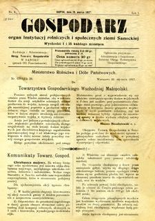 Gospodarz, 1927, nr 4