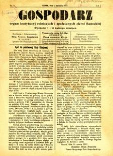Gospodarz, 1927, nr 5