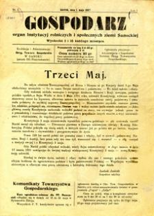 Gospodarz, 1927, nr 7