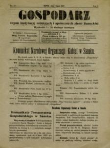 Gospodarz, 1927, nr 10