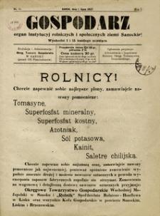 Gospodarz, 1927, nr 11