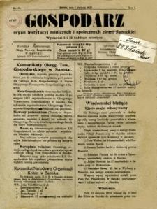 Gospodarz, 1927, nr 13