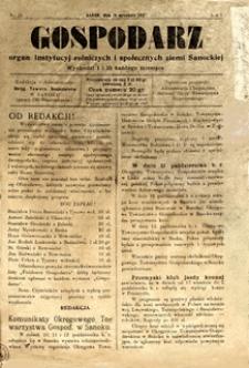 Gospodarz, 1927, nr 15