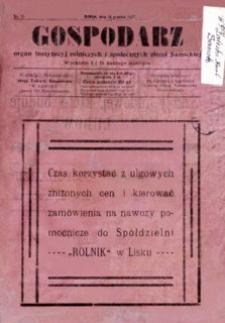 Gospodarz, 1927, nr 19