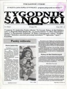 Tygodnik Sanocki, 1991, nr 2
