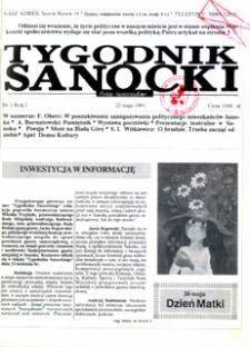 Tygodnik Sanocki, 1991, nr 1