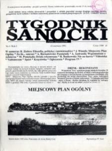 Tygodnik Sanocki, 1991, nr 4