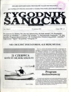 Tygodnik Sanocki, 1991, nr 5