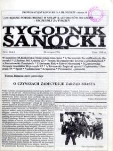 Tygodnik Sanocki, 1991, nr 6