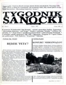 Tygodnik Sanocki, 1991, nr 7