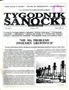 Tygodnik Sanocki, 1991, nr 8