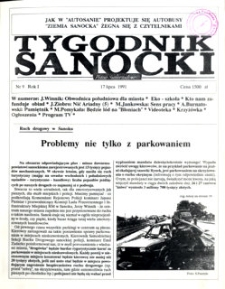 Tygodnik Sanocki, 1991, nr 9