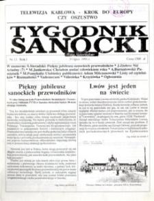 Tygodnik Sanocki, 1991, nr 11