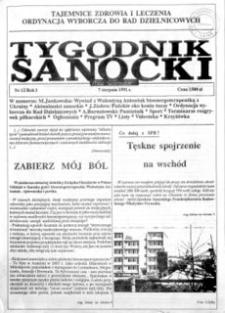 Tygodnik Sanocki, 1991, nr 12