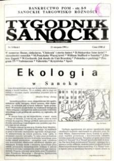 Tygodnik Sanocki, 1991, nr 14