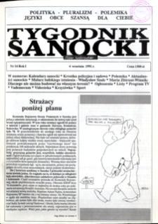 Tygodnik Sanocki, 1991, nr 16