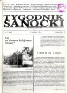 Tygodnik Sanocki, 1991, nr 17
