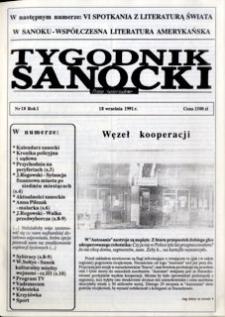 Tygodnik Sanocki, 1991, nr 18