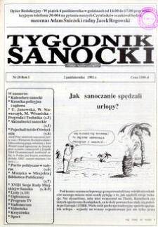Tygodnik Sanocki, 1991, nr 20